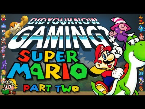 Mario Part 2 - Did You Know Gaming? Feat. Egoraptor, http://didyouknowgaming.com - http://vgfacts.com Watch part 1: http://www.youtube.com/watch?v=glC3zXaJjtQ&list=PL26D7E5A7D29CCAB3&index=1&feature=plcp Store:...