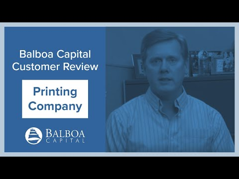 Digital Printing Equipment Leasing | Balboa Capital