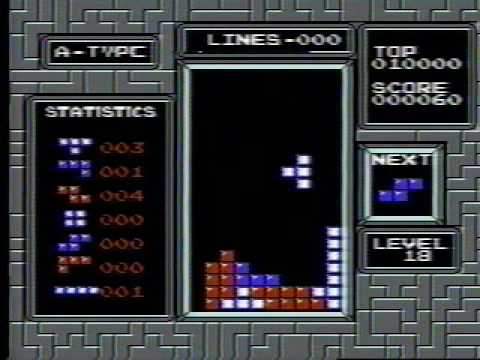NES Tetris - 999,999 (Official World Record)