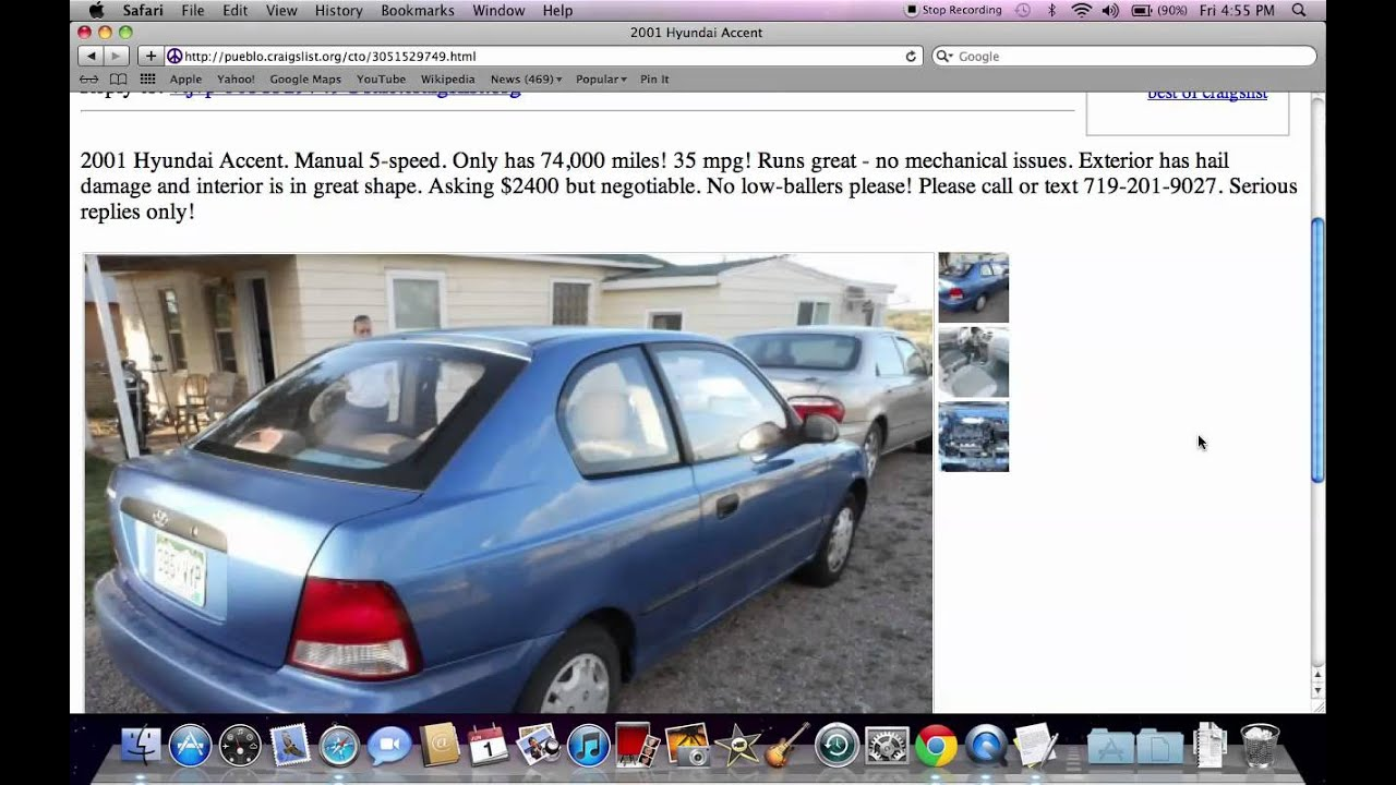 Craigslist Pueblo Cars By Dealer
