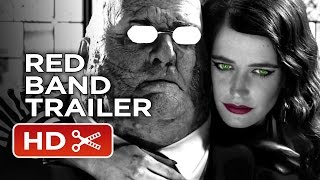 Sin City: A Dame To Kill For Comic-Con Red Band Trailer (2014) - Eva Green Action Thriller HD