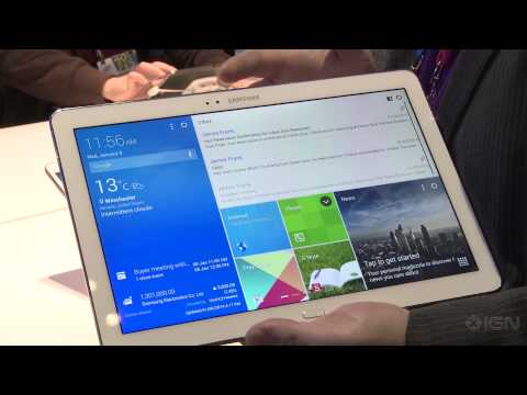 Samsung shows off its new Galaxy Pro tablets - CES 2014