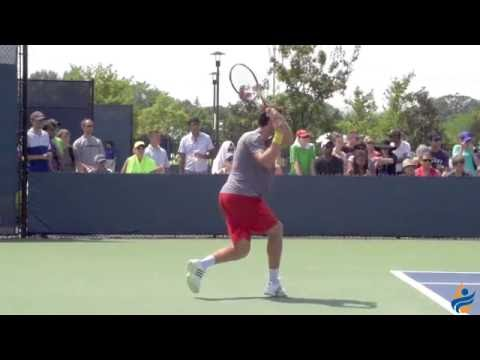 Ernests Gulbis Slow Motion 1080p