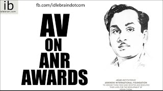 Special AV on ANR International Awards