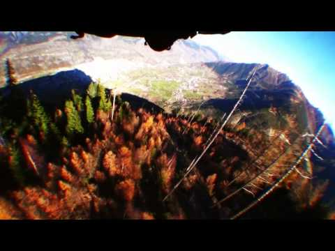 Swiss Alps wingsuit proximity flying 2011