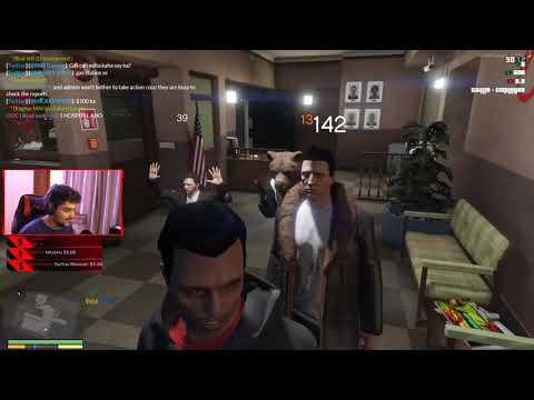 200IQ Bank Robbery - GTA 5 Role Play Funniest