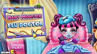 Monster High: Baby Monster Flu Doctor Baby Game