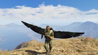 GTA 5 Mod - Người Chim Tấn Công Khu Quân Đội GTA 5
