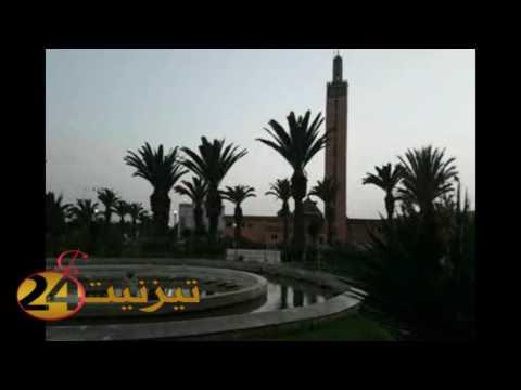 ادان صلاة المغرب بتيزنيت