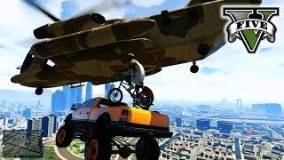 GTA 5 Making Stunt Movie!!! STUNTs & JUMPs GTA 5