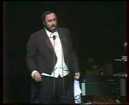 Luciano Pavarotti E lucevan le stelle (Tosca) Budapest 1991