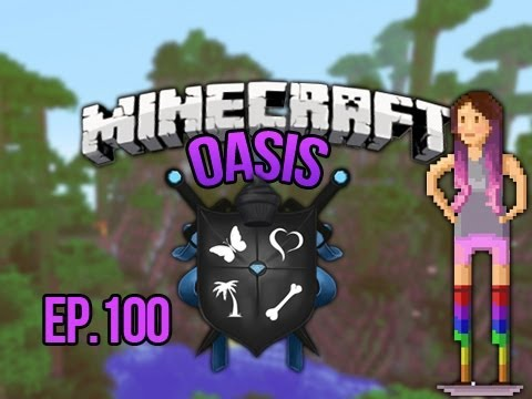 """THE TRUTH""  Minecraft Oasis Ep. 100,"