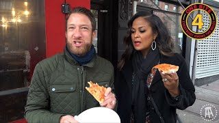 Barstool Pizza Review - Percy's Pizza With Special Guest Laila Ali
