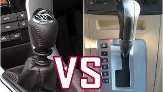 Cual es mejor transmisión Automática o Manual