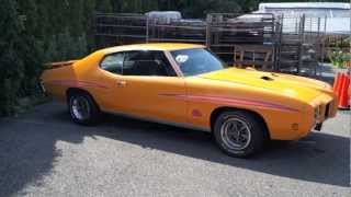 1970 Pontiac GTO judge (Start up & Test drive)