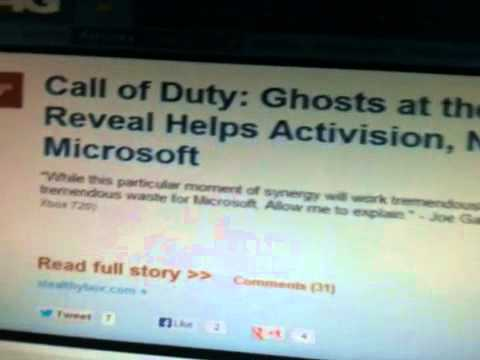Activison and Microsoft contract in 5-21-13