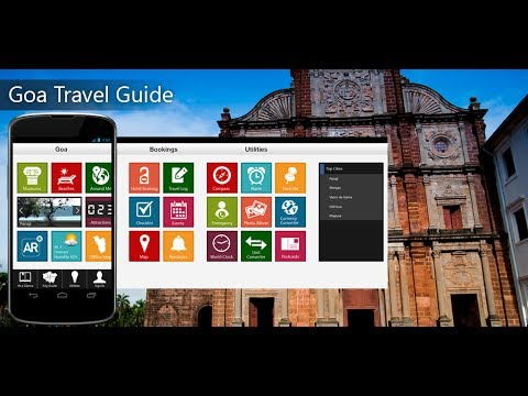 Goa Travel Android App Promo - Pangea Guides