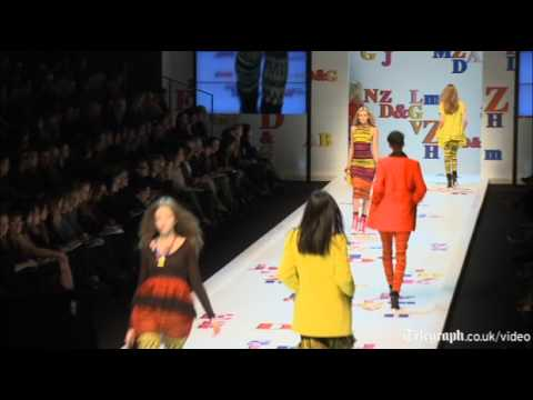 D&G do the alphabet in primary colours