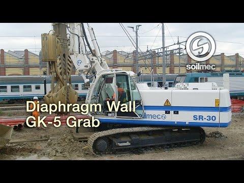 Soilmec SMT 500 Bentonite mud equipment Soilmec SR 30 GK 5 Large ...