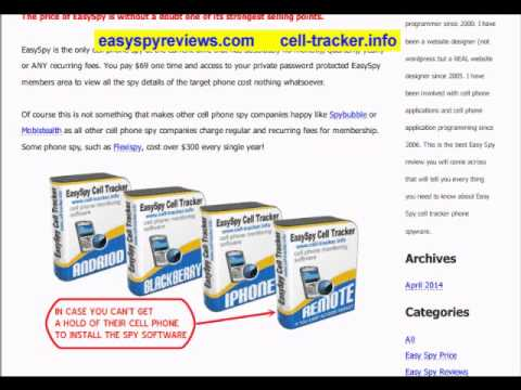 EasySpy Reviews  How GOOD or BAD is Easy Spy Cell Phone Tracker App
