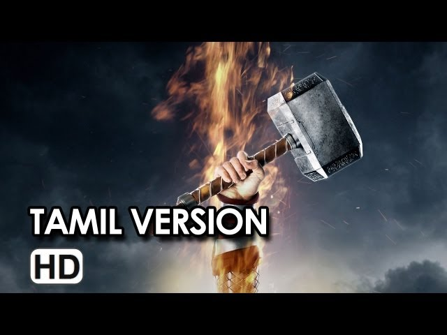 Thor: The Dark World (2013) Official Trailer HD (Tamil Version)
