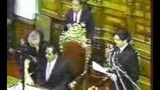 ALAN GARCIA Cuando Es Pifiado En El Congreso