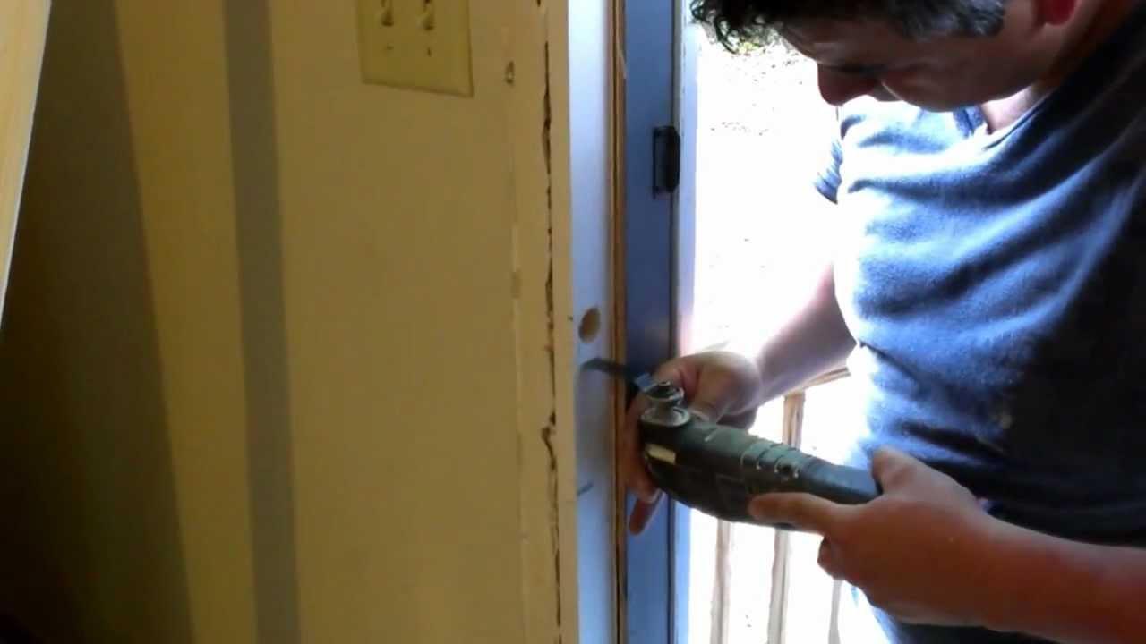 Pictures Of Youtube Door Frame Repair