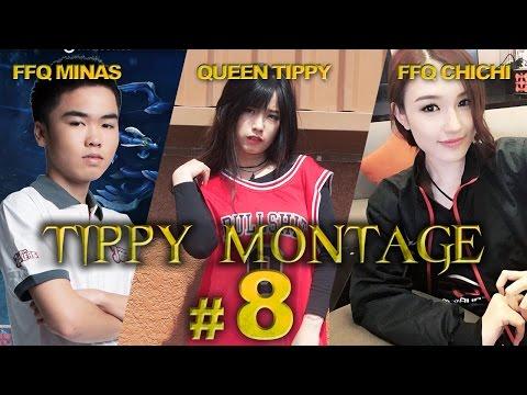 FFQChichi,FFQMinas,Tippy quẩy nát rank với Morgana và Lux