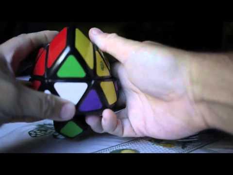 Skewb curvy Rhombohedron Rombohedro Skewb Solución