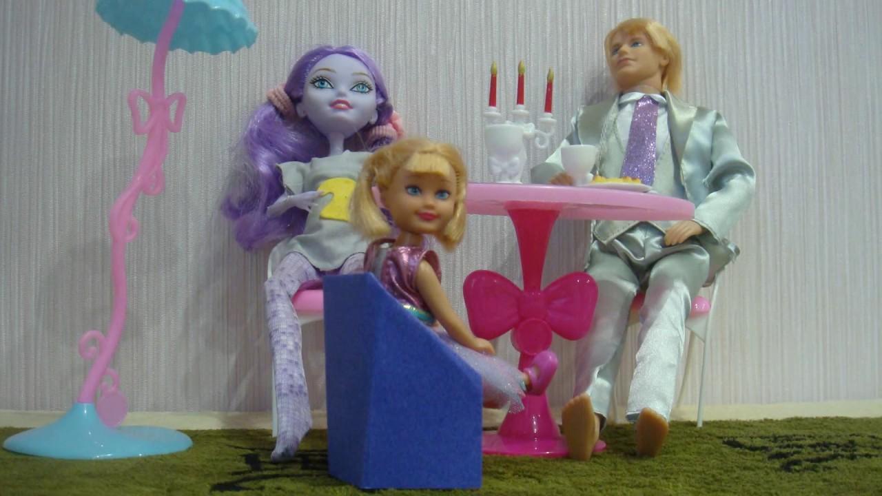 Как сделать стул для кукол ютуб