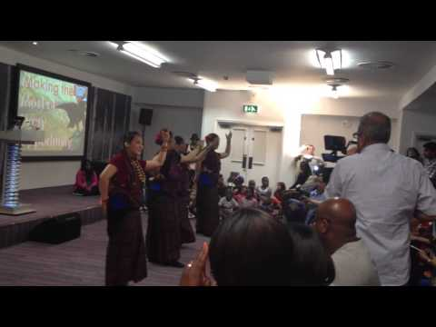 Nepali christian dance 2014 uk