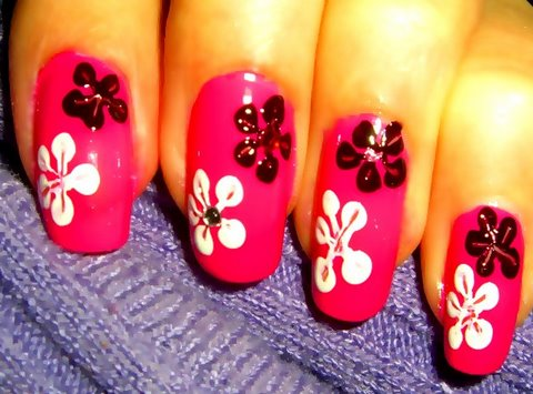 How To Create Nail Flowers