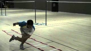 Agility Ladder Drills For Badminton