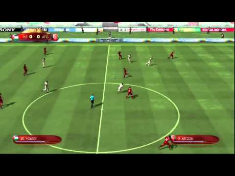 FIFA Digital World Cup 2014 Qualification: Palestine - Afghanistan