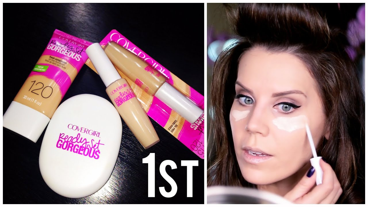 FIRST IMPRESSIONS COVERGIRL + An Epic Fail - YouTube