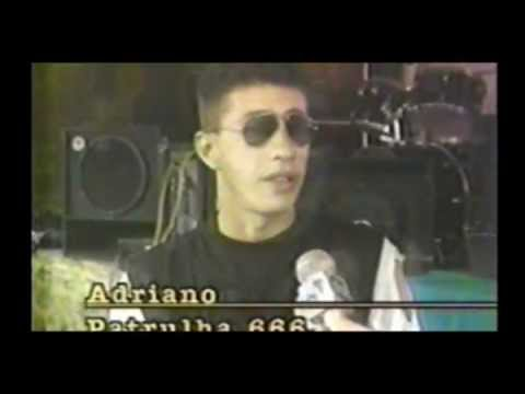 Patrulha66 - entrevista - TV Tiradentes - SBT -  1991