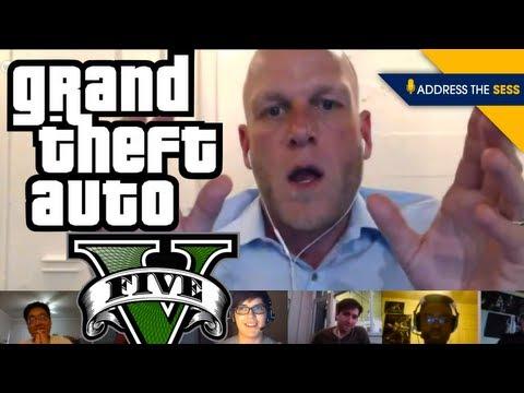 Address the Sess: GTA V Edition! Misogyny, Satire, Storytelling and the PC Version,