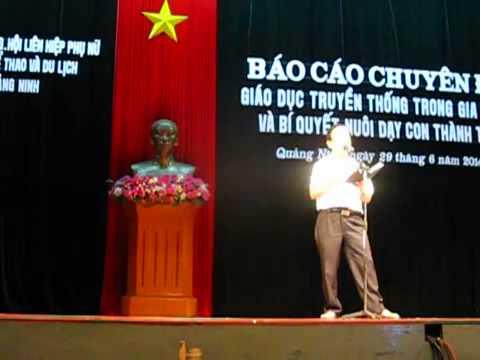 Giáo sư Nguyễn Lân Dũng nói chuyện về nuôi dạy con thành tài
