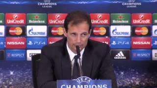 Juventus, Allegri: 'Sapevamo che fare gol contro l'Atletico sarebbe stato difficile'