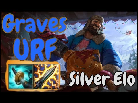 League Of Legends AR URF Graves Gameplay Silver Elo