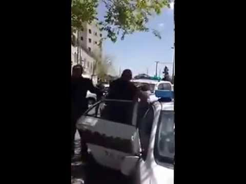 israeli police violence in Jerusalem against Palestinians