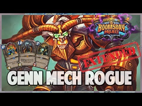 Genn Mech Rogue | Extended Gameplay | Hearthstone | Boomsday Project
