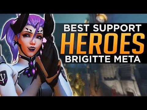 Overwatch: BEST & WORST Support Heroes! - Brigitte Meta Discussion