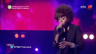 "Khaoula El Moujahid خولة مجاهد ""I'd Rather Go Blind"" - MBCTheVoice"
