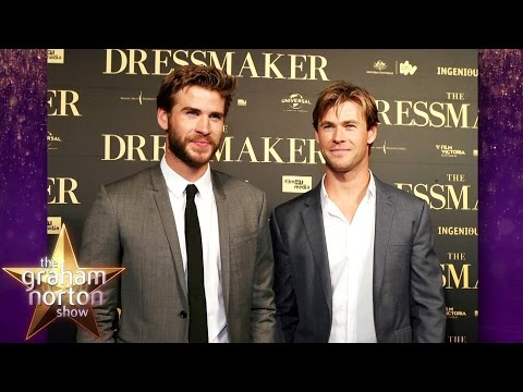 Chris and Liam Hemsworth BOTH Auditioned for Thor! - The Graham Norton Show