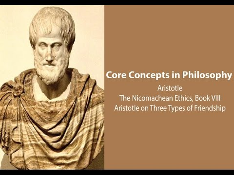 aristotle three types of good Three corresponding kinds of friendship: superiority of friendship whose  sake  of utility love for the sake of what is good for themselves, and those who love for.