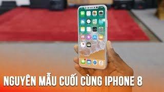 Cùng xem nguyên mẫu cuối cùng của iPhone 8 sắp ra mắt
