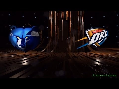 NBA Playoffs - Memphis Grizzlies vs Oklahoma City Thunder - Game 2 - 1st Half - Live 14 - HD