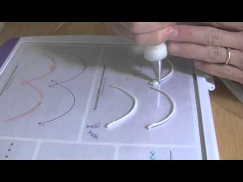 Cake Decorating Piping Techniques How To Make Scrolls : Cake Decorating Piping Techniques: How to Make Bead ...