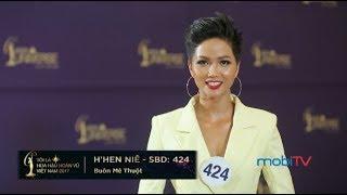 Thí sinh H'Hen Niê, SBD 424, cô gái Ê �ê với ước mơ cao đẹp   Miss Universe Vietnam